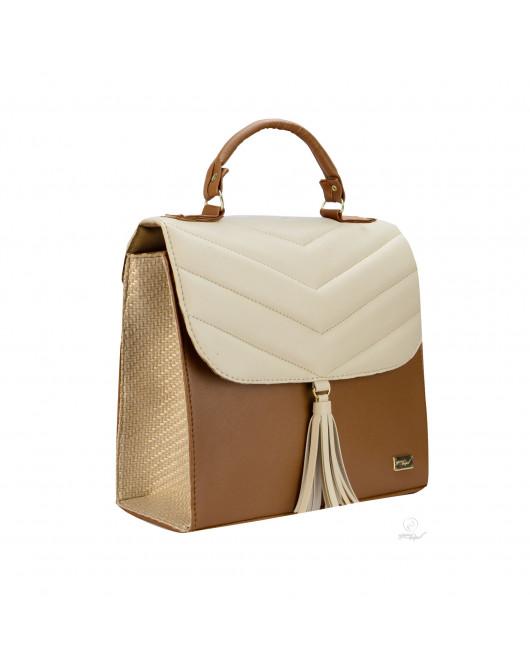 Bolsa Cora Camel